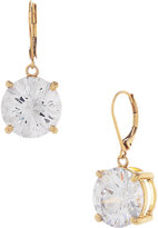 Betsey Johnson Round Crystal Drop Earring