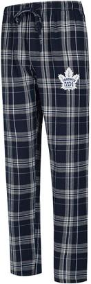Men's Concepts Sport Navy/Gray Toronto Maple Leafs Big & Tall Hillstone Pants
