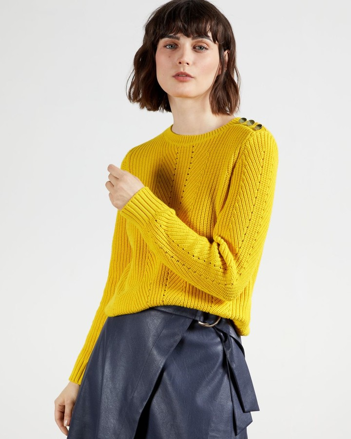 Thumbnail for your product : Ted Baker Button Detail Sweater