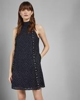 Ted Baker Daisy Lace Halter Dress