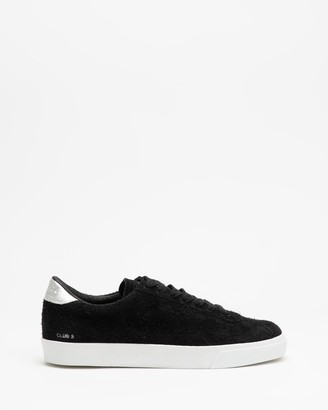 Superga Women's Black Low-Tops - 2843 Luxe Club Hairy Suede - Women's - Size 37 at The Iconic
