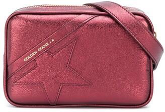 Golden Goose Star metallic belt bag