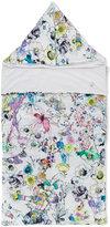 Roberto Cavalli floral print baby nest - kids - Cotton/Elastodiene - One Size
