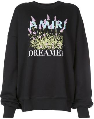 Amiri Flower Dreamer crew sweatshirt
