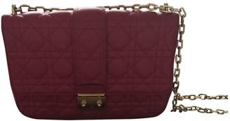Christian Dior Miss Pink Leather Handbags
