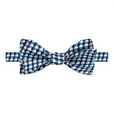 Thomas Pink Blake Print 'Self Tie' Bow Tie