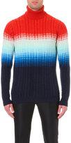 Richard James Turtleneck Degrade Knitted Jumper