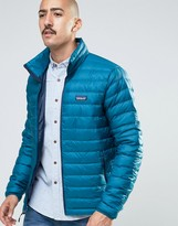Patagonia Down Sweater Jacket In Blue
