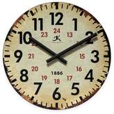 Infinity Instruments Vintage Wall Clock