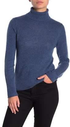 Magaschoni M Essential Cashmere Turtleneck Sweater (Petite)