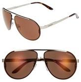 Carrera Men's Eyewear 65Mm Aviator Sunglasses - Light Gold/ Violet