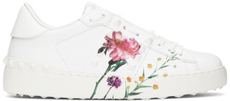 Valentino White Garavani Inez and Vinoodh Edition Flower Rockstud Untitled Sneakers