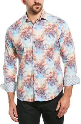 Robert Graham Bakemeyer Classic Fit Woven Shirt