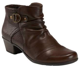 Earth Marietta Malcolm Embossed Bootie