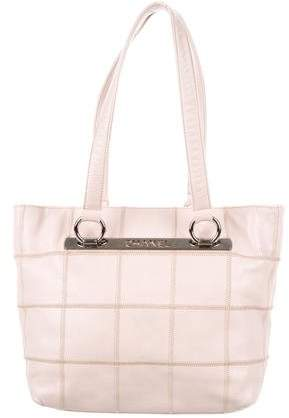 Chanel Square Quilt Tote