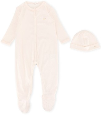 Chloé Kids Pajamas And Hat Set