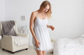 aerie Dot Mesh Nightie