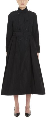 RED Valentino Double Breasted Belted Trench Coat