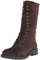 Nine West Women's Gunner Suede Lace-Up Ankle Boot