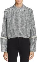 Molly Bracken Zip-Detail Sweater