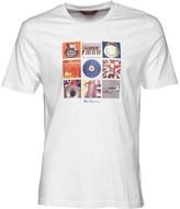 Ben Sherman 9 Music Symbols T-Shirt White