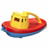 Asstd National Brand Green Toys Tug Boat Yellow Accessory