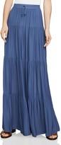 BCBGMAXAZRIA Camila Tiered Drawstring Maxi Skirt