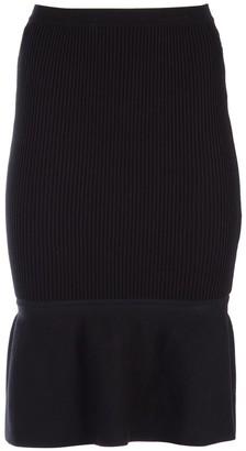 Alexander Wang Ribbed Hem Skirt