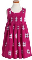 Tea Collection Girl's 'Mitsu' Pleated Trapeze Dress