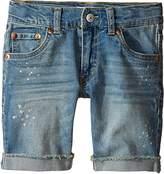 Levi's Kids Mens 511 Cuffed Cut Off Shorts (Little Kids)