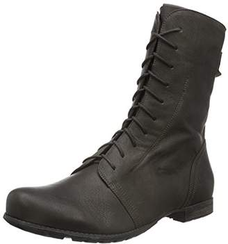 Think! Women 787023 Warm Lined Half-Shaft Boots Ankle Boots Grey Size: 7 UK