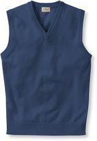 L.L. Bean Bean's Lambswool Vest
