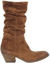 Elena Iachi 50mm Slouched Suede Boots