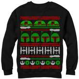 Fifth Sun Star Wars Boba Fett Ugly Christmas Sweater Mens Graphic Sweatshirt