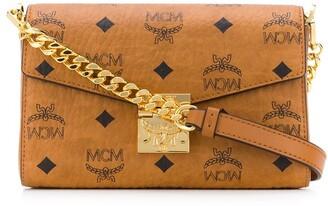 MCM medium Millie Visetos-print crossbody bag