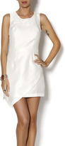 Sugar Lips White Asymmetric Dress