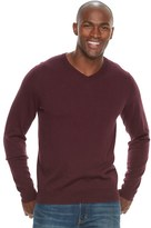 Croft & Barrow Men's True Comfort Classic-Fit V-Neck Sweater
