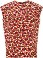 Marni geometric patterned blouse