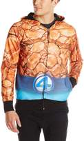 Marvel Men's The Thing Sublimated Costume Hoodie