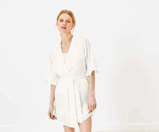 Oasis Bridal Frill Robe