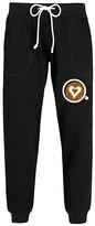 Instant Message Women's Women's Sweatpants BLACK - Black Coffee Cup Heart Swirl Joggers - Women & Plus
