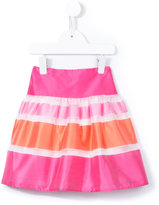Charabia - Nelly striped skirt - kids - Cotton/Polyamide - 3 yrs
