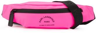 Karl Lagerfeld Paris Neon Belt Bag