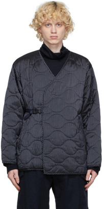 ts(s) tss Navy Quilted Liner Buckle Jacket