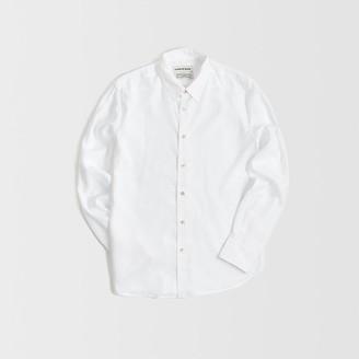 A KIND OF GUISE - White Flores Shirt - m | white - White/White