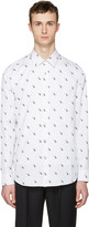 Paul Smith White Dinosaur Tailored Shirt