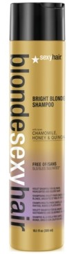 Sexy Hair Blonde Bright Blonde Violet Shampoo, 10.1-oz, from Purebeauty Salon & Spa