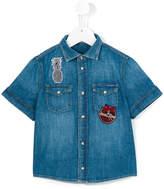 Dolce & Gabbana shortsleeved denim shirt