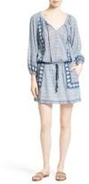 Joie Women's Almee Print Cotton Blouson Dress