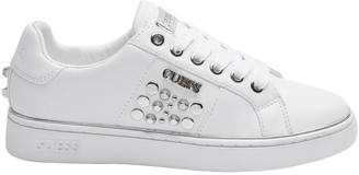 GUESS Brandia White Whill Sneaker
